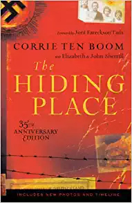 Corrie Ten Boom The Hiding Place cover